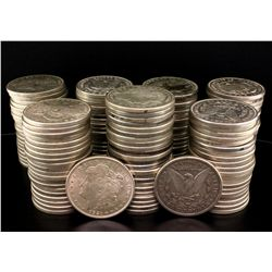 COINS: (145) 1921 Morgan silver dollars