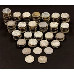 COINS: (277) 1878-1904 Morgan silver dollars