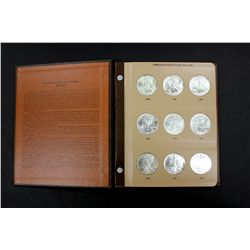 COINS: (1) 1986-2008 Silver Eagle coin set