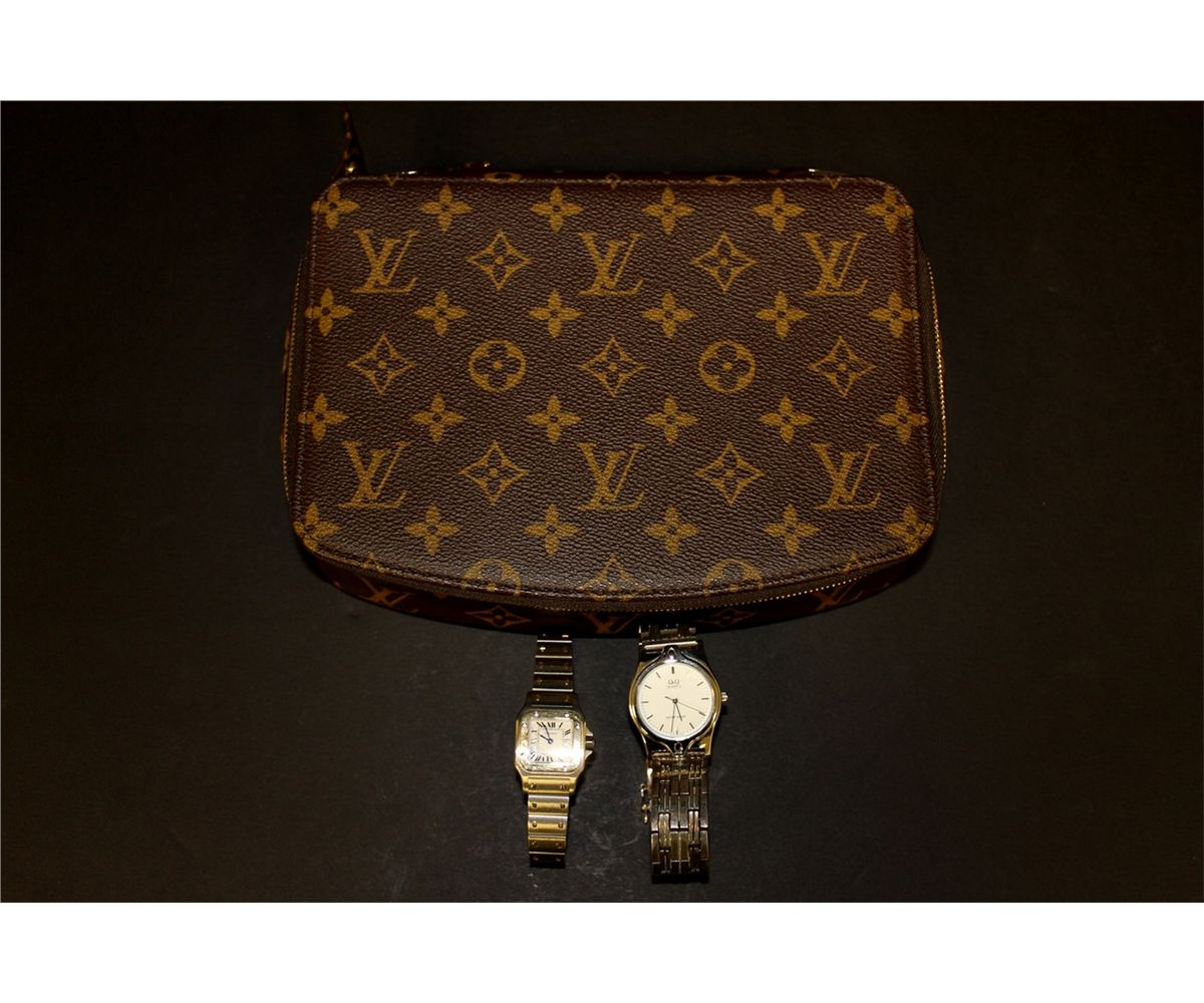JEWELRY Ladys Louis Vuitton Monte Carlo Jewelry Box and 2