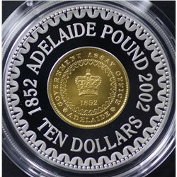Adelaide Pound $10 Proof