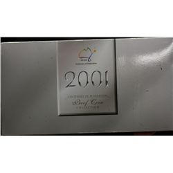 2001 Centenary of Federation Proof 20c and 50c Collection