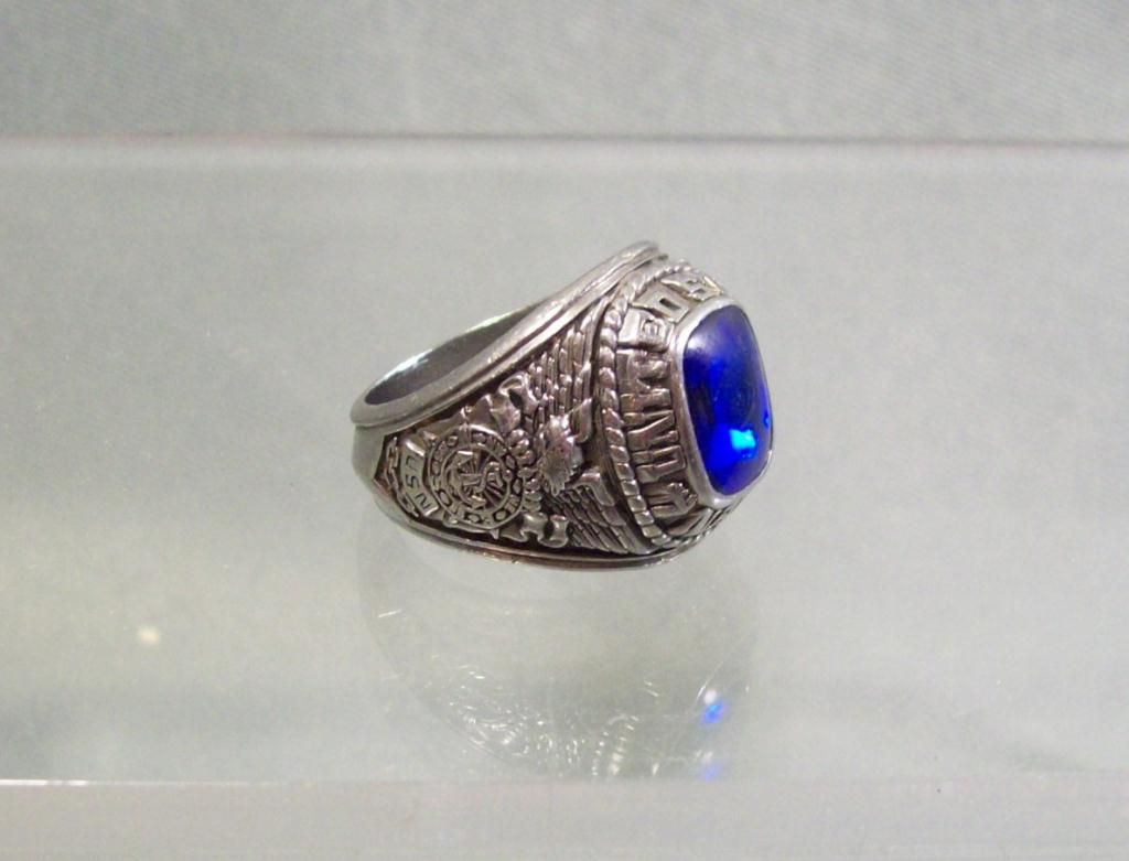 gemstone us ip states montana united stone military gold blue mens steel stainless sapphire ring dark navy products