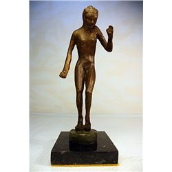Lucien Alliot  Original, limited Edition  Bronze - Woman