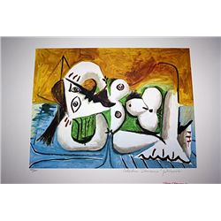 Limited Edition Picasso - Reclining Nude - Collection Domaine Picasso