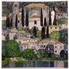 Gustave Klimt CHURCH in CASSONE  Signed Limited Ed. Lithograph