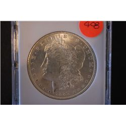 1888 Silver Morgan $1; MCPCG Graded MS62; EST. $60-80