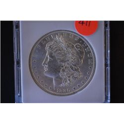 1880 Silver Morgan $1; MCPCG Graded MS61; EST. $60-80