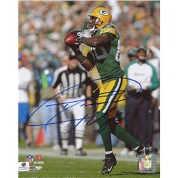 Donald Driver Signed Packers 8x10 Photo (GA COA)