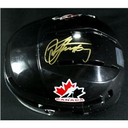 Steven Stamkos Signed Team Canada Mini Helmet (Frameworth COA)