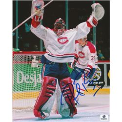 Patrick Roy Signed Canadiens 8x10 Photo (GA COA)