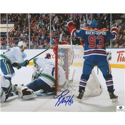 Ryan Nugent-Hopkins Signed Oilers 8x10 Photo (GA COA)