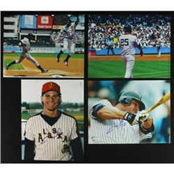 Lot of (5) Jason Giambi Signed Yankees Photos (PA LOA)
