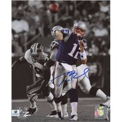 Tom Brady Signed Patriots 8x10 Photo (GA COA)