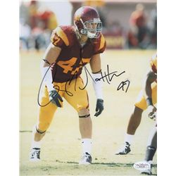 Clay Matthews Signed USC 8x10 Photo (JSA COA)