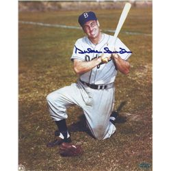 Duke Snider Signed Dodgers 8x10 Photo (PAAS COA)