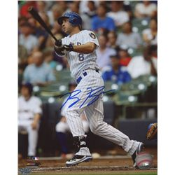 Ryan Braun Signed Brewers 8x10 Photo (PAAS COA)
