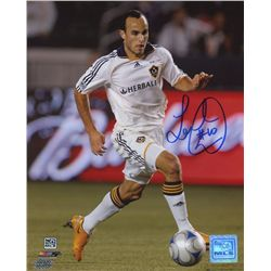 Landon Donovan Signed MLS Galaxy 8x10 Photo (PAAS COA)