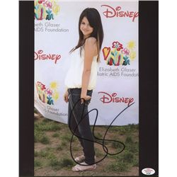 Selena Gomez Signed 8x10 Photo (PAAS)