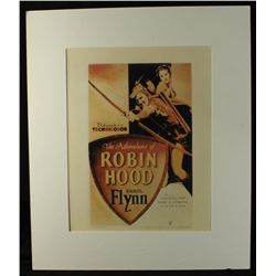 The Adventures of Robin Hood Custom Matted Lithograph