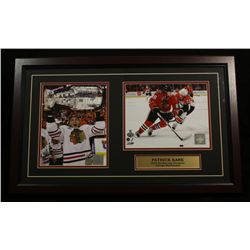Patrick Kane Signed Blackhawks 16x26 Custom Framed Piece (SOP COA)