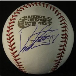 Daisuke Matsuzaka Signed 2007 Red Sox World Series Baseball (GA COA)