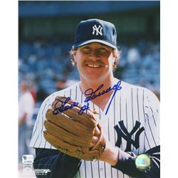 Goose Goosage Signed Yankees 8x10 Photo (GA COA)