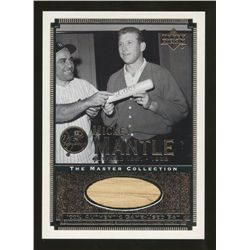2000 Upper Deck Yankees Master Collection All-Time Yankees Game Bats Mickey Mantle