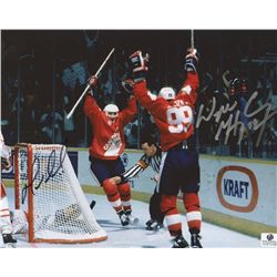 Wayne Gretzky Signed Team Canada 8x10 Photo (GA COA)