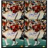 Lot of (4) Jim Hart Signed Cardinals 8x10 Photos (TracerCode)