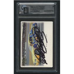 Dale Earnhardt Sr. Signed Card (GAI Encapsulated)