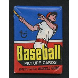 Unopened Wax Pack of 1977 Topps Baseball Cards