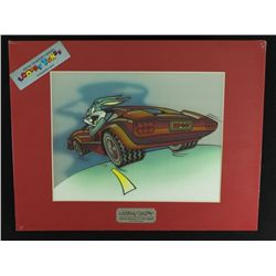 "Bugs Bunny 1994 Limited Edition Chrome Animation Lithograph: ""Bugs Bunny's Getaway"""