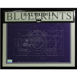 Collection of (4) Batman Batmobile Limited Edition 11x14 Blueprints by Zanart