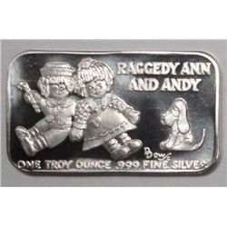1 oz. silver ART BARS. Back in the seventy's this was a hot collectible. This