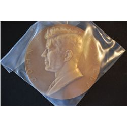 Treasury Bureau Of The Mint Presidential Inaugural Medal; John F Kennedy Inaugurated 1/20/61; Bronze