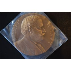 Treasury Bureau Of The Mint Presidential Inaugural Medal; William H Taft Inaugurated 3/4/09; Bronze