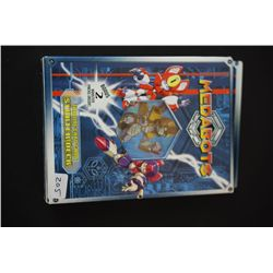 Medabots Trading Card Game Starter Deck; Bonus 2 Booster Packs Inside; Unopened; EST. $3-6