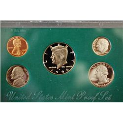 1996-S US Mint Proof Set; EST. $5-10