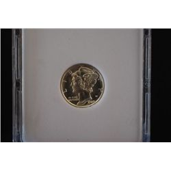 1929-D Mercury Dime; MCPCG Graded MS67; EST. $260-300