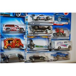 Mattel Hot Wheels Car; Various Dates, Makes & Models; Lot of 10; EST. $10-30