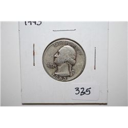 1943 Washington Quarter; EST. $10-15