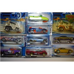 Mattel Hot Wheels Car; Various Dates, Makes & Models; Lot of 10; EST. $20-30