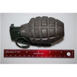WWII Hand Grenade; Disarmed; EST. $40-60
