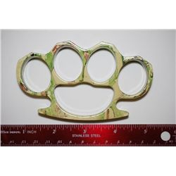 Brass Knuckles; Camo In Color; EST. $40-60