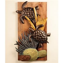 Flower Sculpture Wall Plaque