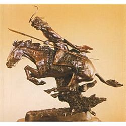 Cheyenne  Bronze Sculpture - Remington