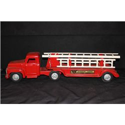 BUDDY L EXTRNSION LADDER FIRE TRUCK - 29""