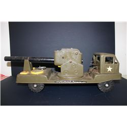 """ARMY CANNON TRUCK - NYLINT - 23"""""""
