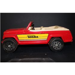 TONKA SPORTS JEEP - NEAR MINT - METAL - 13""